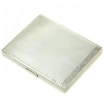 Tabacheră interbelică din argint masiv | manufactură de atelier românesc | anii '30