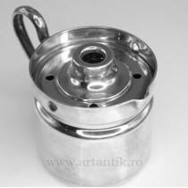"letiera ""milk boiler"".argint.Brandimarte. cca 1970. Italia"