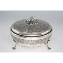 bomboniera argint. orfevrerie Italiana cca 1920