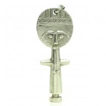Amuletă din argint pentru fertilitate | Akuaba | atelier Uno-A-Erre | anii '60 | Italia