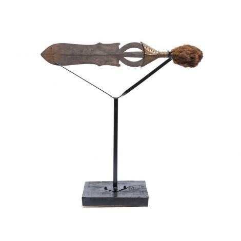 Veche sabie ceremonială Mopamba | triburile Ngome - Poto | Congo | început de secol XX