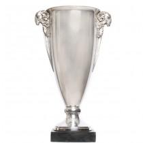 Impozant  trofeu Art Deco | KRIOS | alamă argintată | cca.1920 | Franța