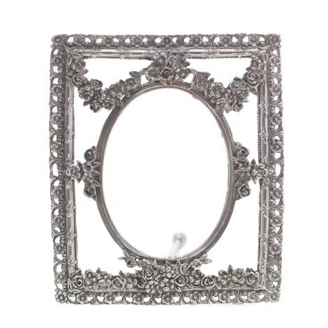 Ramă foto din argint în stil neoclasic | atelier Giovanni Raspini | Italia