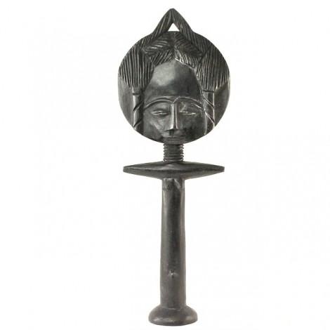 Statuetă africană pentru fertilitate | Akua'ba | Ghana | ultimul pătrar al secolului XX