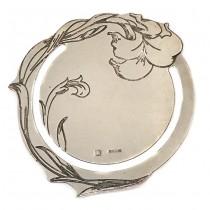 Semn de carte în stil Art Nouveau | metal argintat | atelier Ercuis - Paris