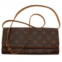 Poșetă autentică Louis Vuitton | Classic Monogram - Twin  | model M51852 | anii 2010