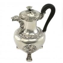 Ceainic din argint 950 elaborat în manieră Art Nouveau | Franța | cca.1900 -1910