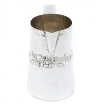 Carafă din argint 925 | design modernist | manufactură de atelier Brandimarte Guscelli | cca.1970