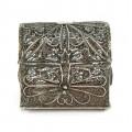 Veche casetă iudaică pentru mirodenii besamim   argint filigranat   cca.1900