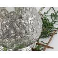 Halbă victoriană din argint sterling   atelier Walker & Hall    Sheffield - Marea Britanie anul 1876