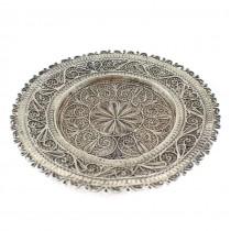 Farfurie din argint filigranat  pentru delicatese | Rusia Imperială | cca.1900