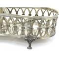 Olivieră din argint elaborată în stil Empire | atelier Mercatelli Fernanda fu Giovanni | cca. 1950 Italia