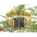 Elegant ceas automatic elvețian Roamer, model RedSea 1968 | oțel inoxidabil placat cu aur 18k