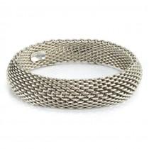 Brățară mesh Tiffany & Co din colecția Somerset | argint sterling | Statele Unite anii 2000