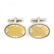 Eleganți butoni din argint & argint aurit | atelier Anson - Statele Unite | anii 2000