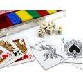 Set de lux pentru joc de Poker | atelier Cunill - Farco & Heraclio Fournier | 1950 -1960 Spania