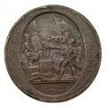 Monedă 5 SOLS  1792   |  Vivre libres ou mourir  |  VF | Monneron - Paris |  Franța