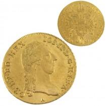 Monedă aur 1 Ducat Joseph II 1787 Viena | aUNC | rară piesă de colecție numismatică