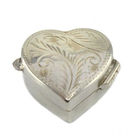 Delicată cutiuță din argint 925 | Marea Britanie