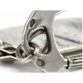 Breloc din argint cu declarație de dragoste | Ti Amo | manufactură de atelier italian | cca. 1960