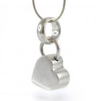 Colier din argint cu pandant romantic modernist | atelier Silpada | Statele Unite |  anii 2000
