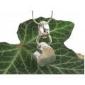 Colier din argint cu pandant romantic modernist   atelier Silpada   Statele Unite    anii 2000