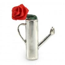 Inedită broșă modernistă din argint sterling | atelier Reo Company | Statele Unite cca.1960