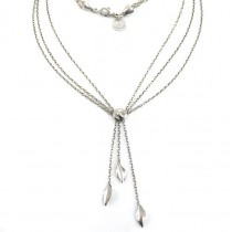 Colier lavalier multistrand Tiffany & Co | Leaves | argint sterling | Statele Unite anii 2000