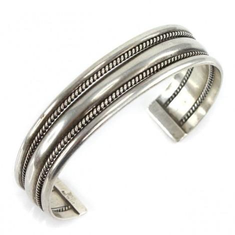 Brățară modernistă mexicană din argint  | manufactură atelier Tane | rară bijuterie de colecție | cca. 1960