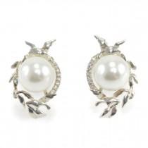 Rafinați cercei decorați cu perle naturale Akoya | Imperial Pearl | Marea Britanie | anii 2000