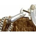 Colier din argint cu impresionant pandant mid-century Zodia Pești | atelier italian | cca. 1950 -1960