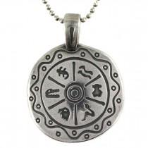 Colier Tous cu amuletă de inspirație amerindiană   argint 925   Statele Unite   cca. 1980