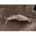 Vechi pandant pentru prafuri medicinale, stilizat sub forma unui pește | China | început de secol XX