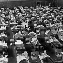 ℹ️ Bolnavi de gripă asiatică, izolați într-o arenă sportivă din Lulea, Suedia, 1957