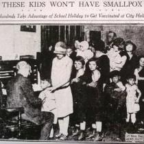 ℹ️ Epidemie variolă Minnesota - St. Paul Daily News, 1924