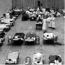 ℹ️ Auditoriul Municipal Oakland - loc dedicat îngrijirii bolnavilor | pandemie gripă spaniolă | 1918