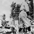 ℹ️ Meci de baseball în vreme de gripă spaniolă - cca. 1918