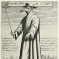 """ℹ️ Gravură """"Doctor Cioc de la Roma"""" – autor Paul Furst, cca. 1656"""
