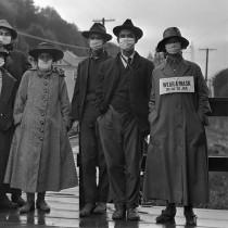 """ℹ️ """"Poartă mască sau mergi la închisoare"""" - pandemia de gripă spaniolă, California, 1918"""