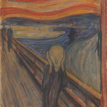 "#pandemiadecultura ℹ Edvard Munch – ""Țipătul"" – ulei, tempera și pastel pe carton, 1893"