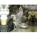 Inel statement bărbătesc din argint | Eagle Man | Statele Unite
