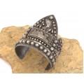 Opulentă brățară Egyptian Revival  | manufactură în argint | atelier egiptean | anul 1948