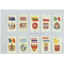colecție 50 cartoane Players' Cigarettes:  Însemne statale și militare . 1936