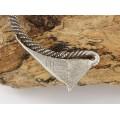Impresionant colier amuletic Hmong manufacturat în argint masiv | Laos | prima jumătate a secolului XX