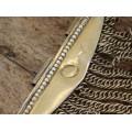 Veche brăţară otomană Belezuka manufacturată în argint aurit | Bosnia și Herțegovina secol XIX