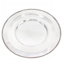 Platou din argint pentru servirea aperitivelor   atelier Zipoli Guido di Ricci Alberto   Italia anii '50