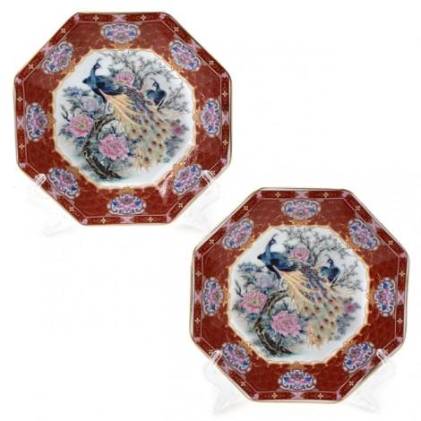 Set de două farfurii decorative japoneze   cca. 1960