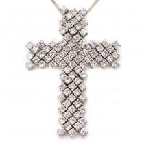 Colier modernist din argint, accesorizat cu un splendid pandant religios modernist | Italia anii 2010