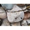 Cercei creole din argint și abanos | manufactură în argint 925 | Niger