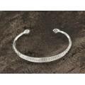 Brăţară amuletică tuaregă Elkiss manufacturată în argint | Men Size | Niger SERIE LIMITATĂ !